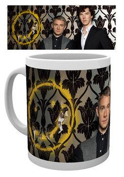 Sherlock - Smiley Tasse