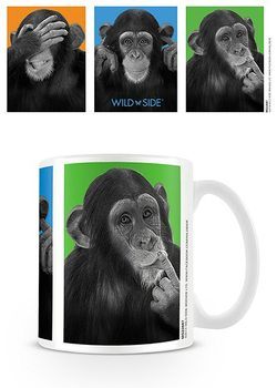 Singes - Les trois singes de la sagesse Tasse