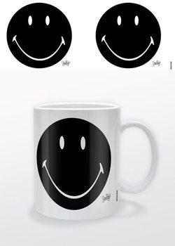 Smiley - Black Tasse