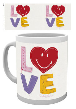Smiley - Craft Love Valentines Day Tasse