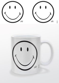 Smiley - White Tasse