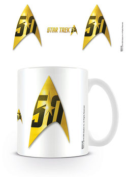 Star Trek: 50 Insignia - 50th Anniversary Tasse