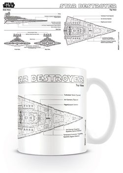 Star Wars - Star Destroyer Sketch Tasse