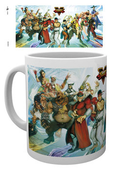 Street Fighter 5 - Characters Tasse