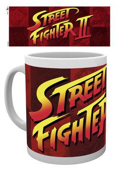 Street Fighter - Logo Tasse