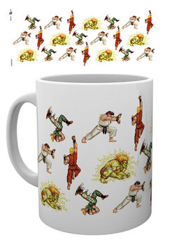 Street Fighter - Sprites Tasse