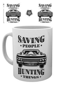 Supernatural - Hunting Things Tasse