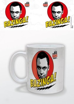 The Big Bang Theory - Bazinga Tasse