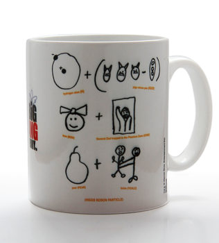 The Big Bang Theory - Higgs Boson Particle Tasse