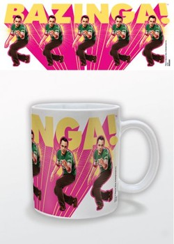The Big Bang Theory - Pink Tasse