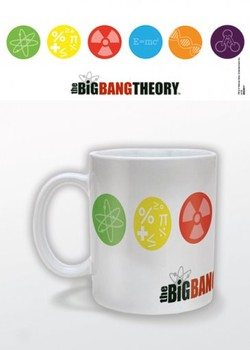 The Big Bang Theory - Symbols Tasse