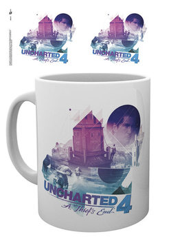 Uncharted 4: A Thief's End - Bike Chase Tasse