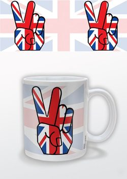 Union Jack Peace Tasse