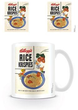 Vintage Kelloggs - Rice Krispies Strawberries Tasse
