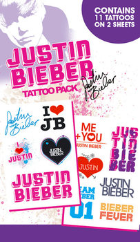JUSTIN BIEBER - i love Tattoo