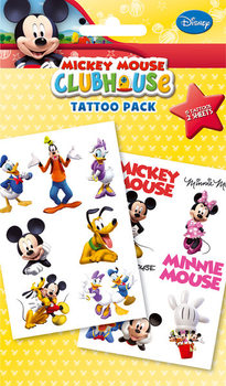 MICKEY MOUSE - club house Tattoo