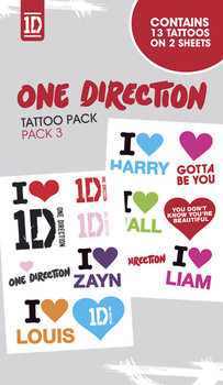 ONE DIRECTION - i love Tattoo