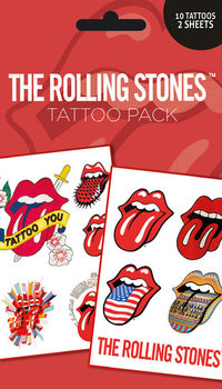 ROLLING STONES - lips Tattoo