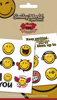 Tattoo SMILEY 1