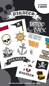 PIRATES 1 Tatuagens