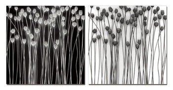 Abstraction flowers Taulusarja