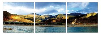 Peaks over a lake Taulusarja