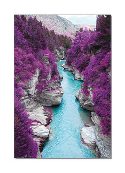 River flows in Purple Forest Taulusarja