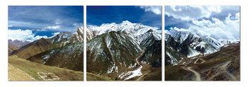 Snowcapped mountains Taulusarja
