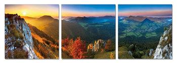 Sunset over the Hills Taulusarja