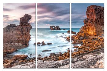 The bay in the rocks Taulusarja