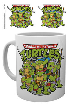 Mug Teenage Mutant Ninja Turtles - Retro