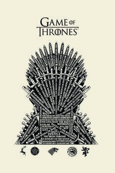 Tela A Guerra dos Tronos - Iron Throne