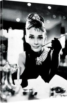 Tela Audrey Hepburn - Breakfast at Tiffany's B&W