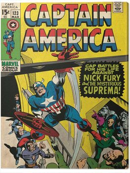 Tela Captain America - Superman