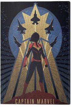 Tela Captain Marvel - Deco