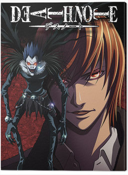 Tela Death Note - Light and Ryuk