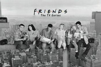 Tela Friends - Almoço em um Arranha-céu