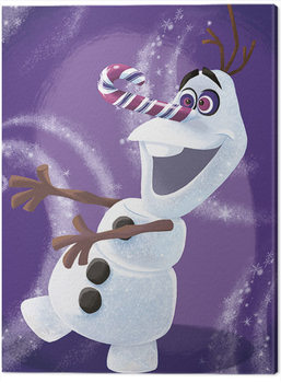 Tela Frozen - Olaf Dizzy