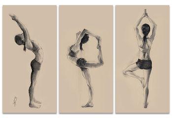 Tela Hazel Bowman - Yoga Series