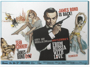 Tela James Bond - From Russia With Love - Painting