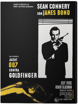 Tela James Bond - Goldfinger - Window