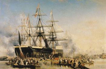 Tela King Louis-Philippe  Disembarking at Portsmouth