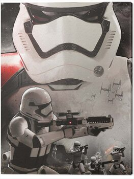 Tela Star Wars Episode VII - Stormtrooper Art