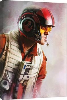 Tela Star Wars The Last Jedi - Poe Paint
