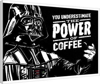 Tela Star Wars - The Power Of Coffee