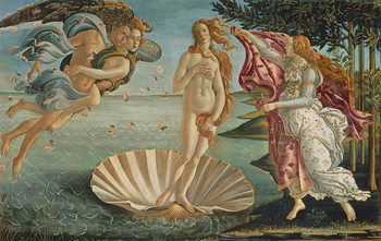 Tela The Birth of Venus, c.1485