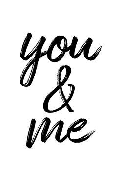 Tela You and me