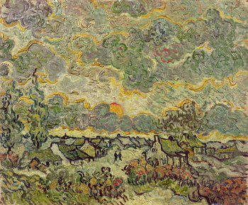 Tela Autumn landscape, 1890