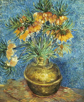 Tela  Crown Imperial Fritillaries in a Copper Vase, 1886