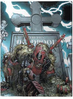 Tela Deadpool - Grave